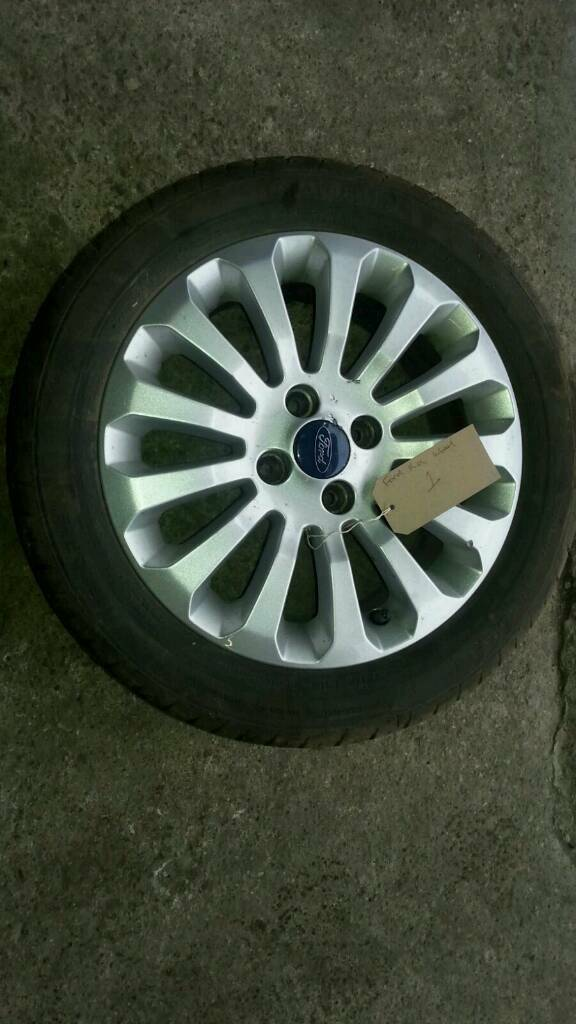 Mk Ford Ka  Inch Alloy Wheel With Tyre