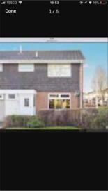 Three bedroom semi to rent Grangemoor Runcorn Cheshire NO FEES!