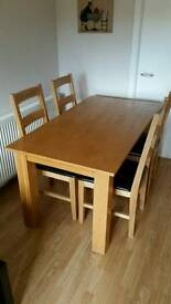 Dinning Room Table + 4 Chairs