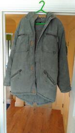 foxhole parker coat excellent condition