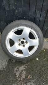 Audi A8 Spare Wheel