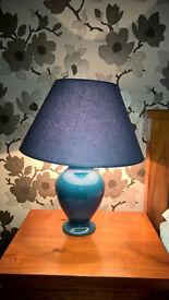 Kostka Table Lamp - Blue