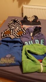 Bundle of boys hoodies age 3-4