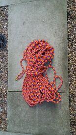 climbing rope (eldred) 12mm diameter 45 metres long