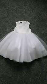 Flower Girl Dress / Bridesmaid Dress 12-18 Months