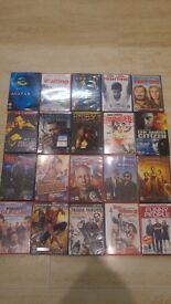 76 mixed dvds bag 3