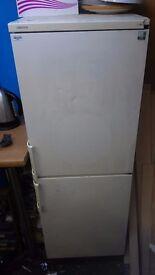 Upright fridge freezer