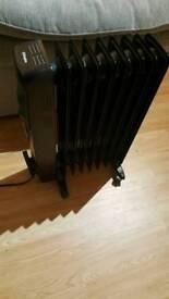 Dimplex oil filled heater