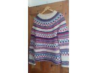 Pure new wool jumper