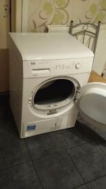 BEKO condenser dryer DCU7230W spares or repairs