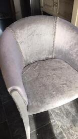 Glitter tub chair
