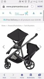 Double buggy britax duel b good condtion any question please ask