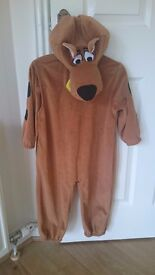 Scooby doo dressing up outfit age 3-4