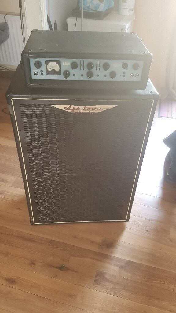 ashdown abm 500 bass amp and cabinet in runcorn cheshire gumtree. Black Bedroom Furniture Sets. Home Design Ideas