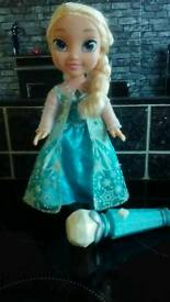 UN-USED Singalong Elsa doll