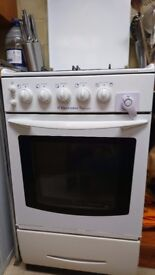 Freestanding Electrolux gas cooker