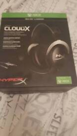 HyperX cloudX pro gaming headset £45 ONO **BRAND NEW UNOPENED**