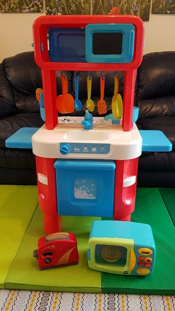 Elc Toy Kitchen Set Bundle Kitchen Accessories Microwave
