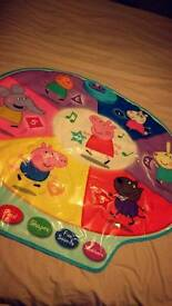 Peppa Pig Musical Play Activity Mat Fun Learning Kids Toy