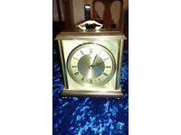 Metamec vintage mantelpiece clock