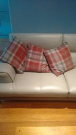 3 NEXT cushions with covers
