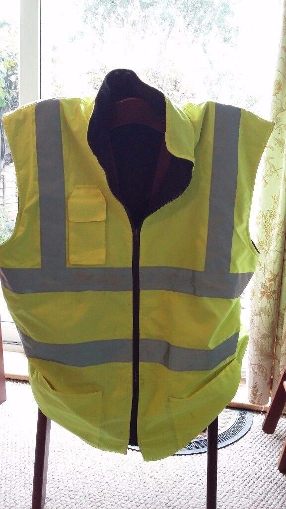High Visibility Man's Reversible Jacket