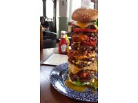 Awesome Burger Flipper £8 hourly Zones 1 & 2, Immediate Start