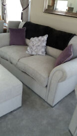 #### LARGE 3 SEATER SOFA BED AND 2 CHAIRS NOW REDUCED ######