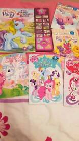 My Little Pony Book Bundle including 1 sound book