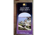 Harvey Walking Map South West Coast Path 2