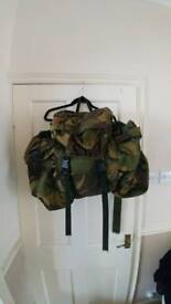 Rucksack british army backpack camouflage camping fishing hiking
