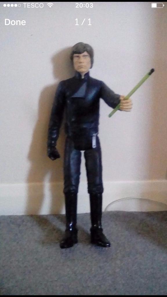Star Wars Luke action figure