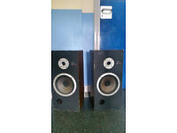 SONY SPEAKERS 4EE. GOOD QUALITY SPEAKERS. POWERFUL SOUND.