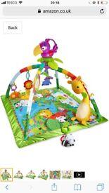 Fisher price rainforest playmat (recent edition)