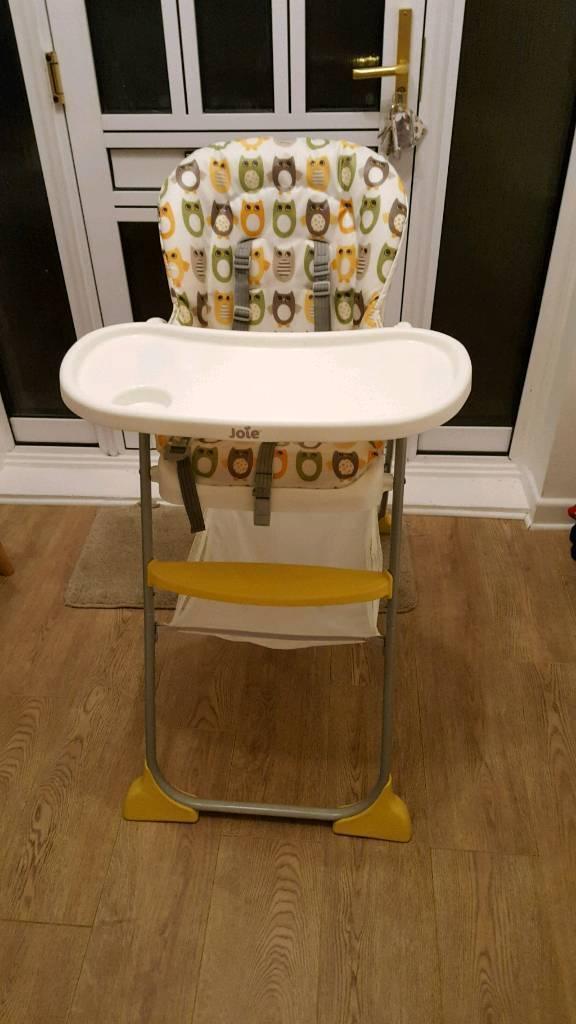 Joie high chair folding
