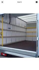 MAN AND VAN NATIONAL AND INTERNATIONAL MOVERS OFFICE REMOVALS LARGE LUTONVAN WITH TAILLIFT