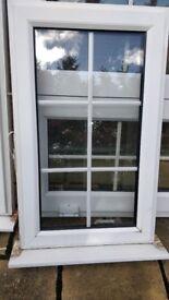 Used UPVC Georgian Style Double Glazed Window