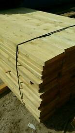 Untreated Unbanded Scaffold Boards (225mm x 38mm) 3.9mtr Lengths