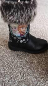 Kids Frozen boots