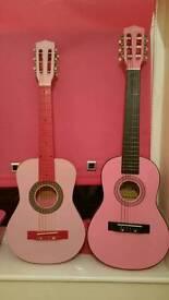 2 guitars for kids