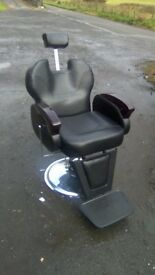 Barbers chair only a few months old, Batman man cave chair