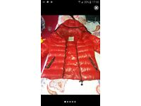 Womens moncler coat