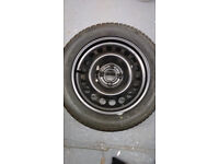 spare wheel and tyre for vauxhall corsa 2002