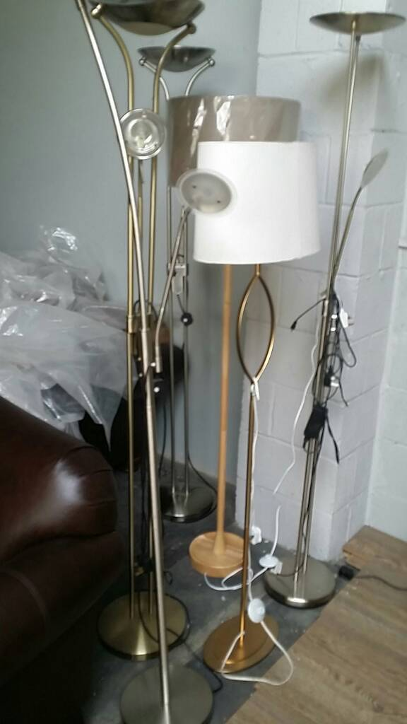 15cef28c9 John Lewis floor lamps | in Whitefield, Manchester | Gumtree