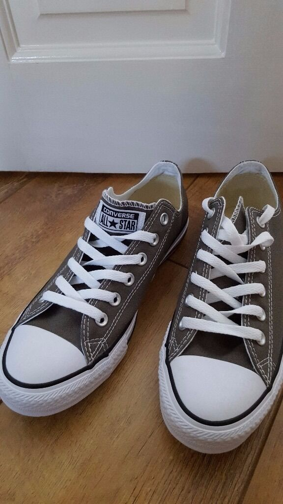 New Converse khaki UK size 7