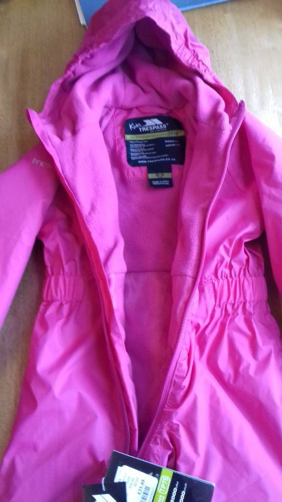 d3937f076 New Trespass Children s 2 3yr old all in one rain winter suit