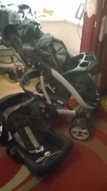 FOR SALE PUSHCHAIR TRAVEL SYSTEM BY GRACO