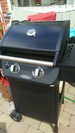 Jambuck 2 burner gas bbq