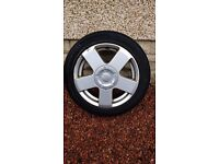 """Alloy wheel for Ford Fiesta Flame, 15"""""""
