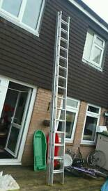 Extra long 2 teir ladders